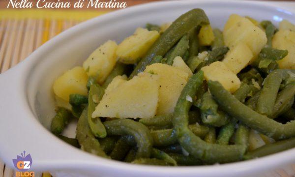 Fagiolini e Patate in insalata