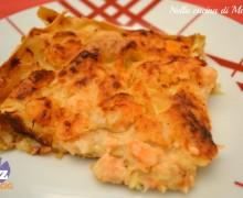 Lasagne al salmone e gamberetti, ricetta delicata