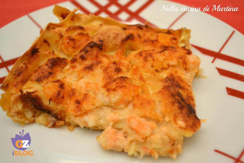 lasagne al salmone ricetta nella cucina di martina