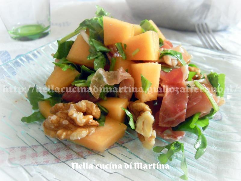 insalata di melone, prosciutto & c.