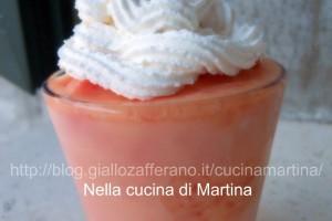 Bicchieri gelati d'anguria