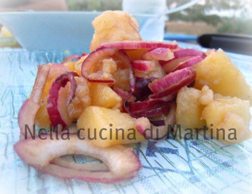 Patate e cipolle di tropea all'aceto balsamico