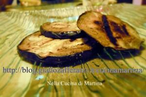 Melanzane grigliate all'aceto balsamico