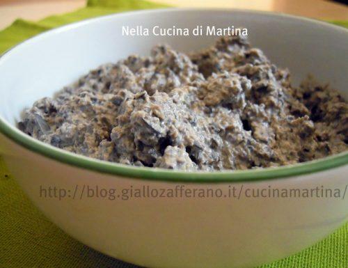 crema di olive per crostini