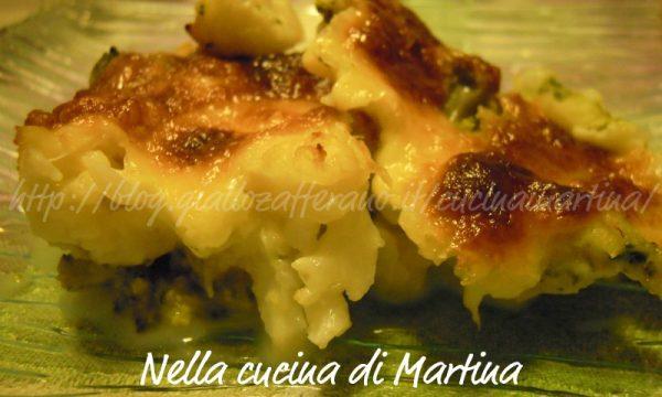 Misto invernale alla mozzarella, ricetta con cavolfiori