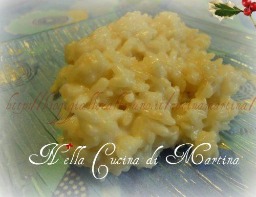 Risotto al formaggio di fossa, ricetta alternativa per la vigilia di Natale