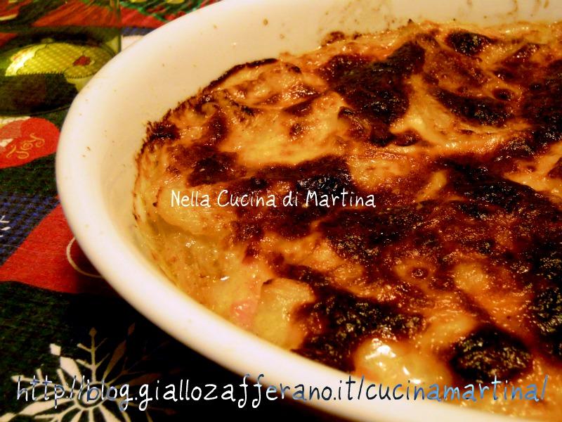 sformato di finocchi ricetta nella cucina di martina
