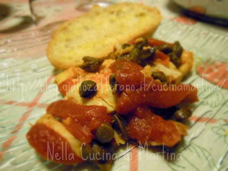 filetti di pesce al pomodoro |fior di filetto cirio |ricetta nella cucina di martina