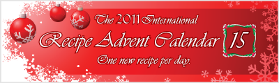 recipes calendar advent