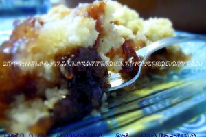Crumble di mele e confettura, ricetta dolce e veloce