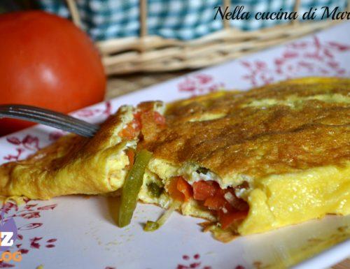 Omelette Costa Brava, ricetta vegetariana