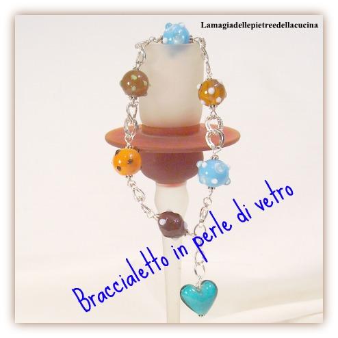braccialetto in vetro terzo premio contest legami e legumi