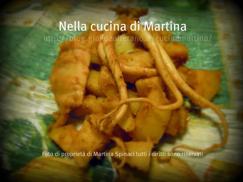 ricetta moscardini con patate nella cucina di martina