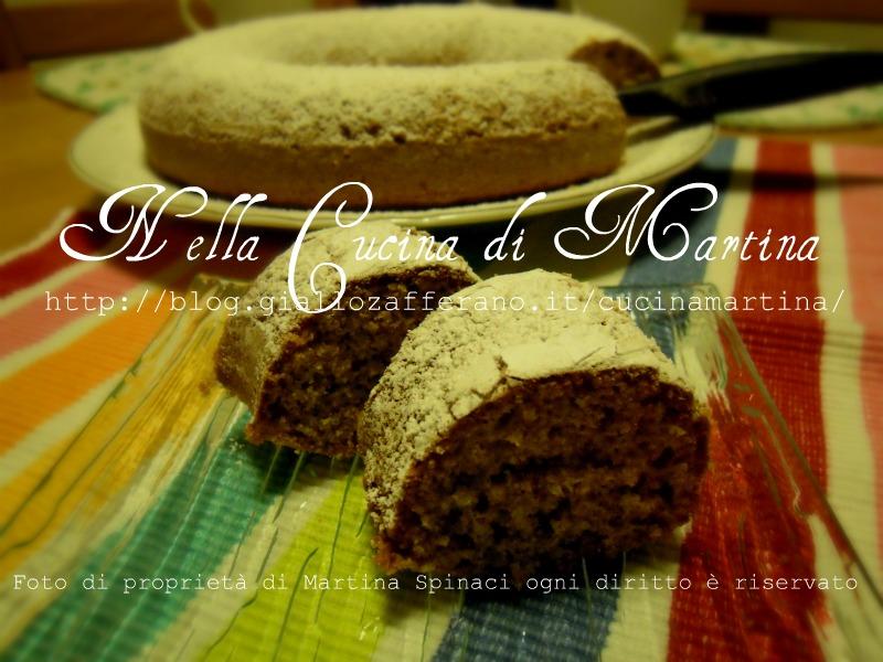 torta agli amaretti Nella cucina di martina ricetta dolce