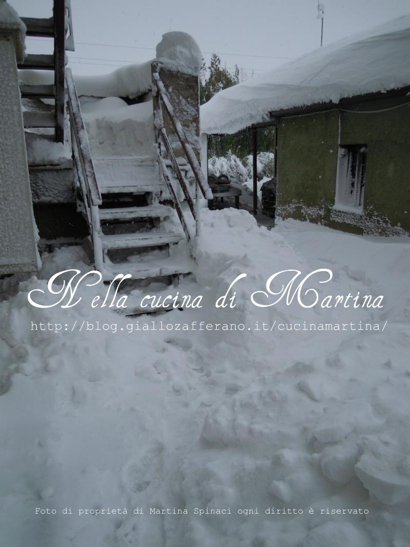 neve a fano 2012 nella cucina d martina