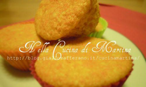 Muffin alle carote e mandorle, ricetta tipo Camille