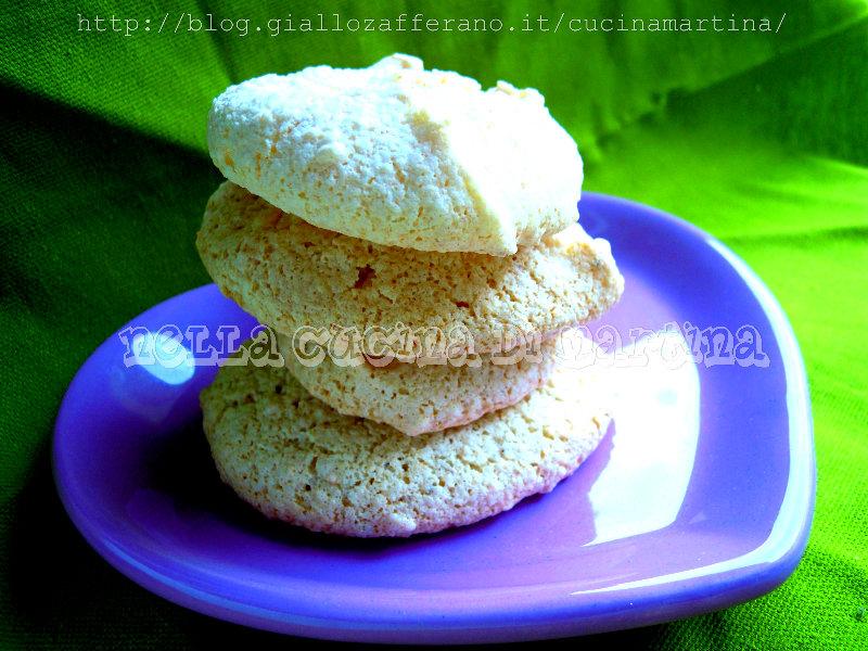 biscotti di nocciole ed albumi ricetta economica nella cucina di martina