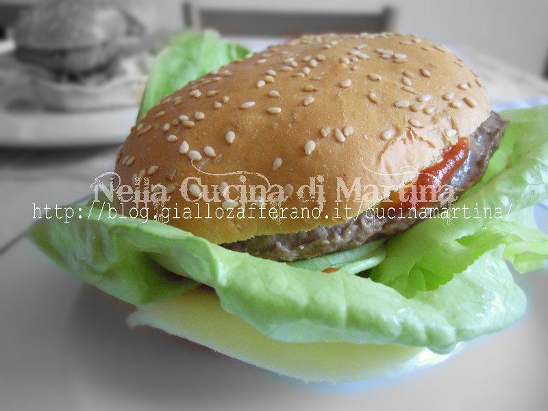 cheeseburger ricetta economica nella cucina di martina