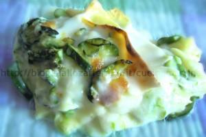 lasagne con asparagi e zucchine, ricetta di primavera