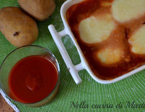 Gateau di patate al pomodoro, ricetta vegetariana