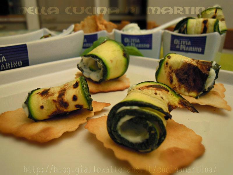 sfoglie croccanti e rotolini di zucchine |ricetta finger food |olivia & marino