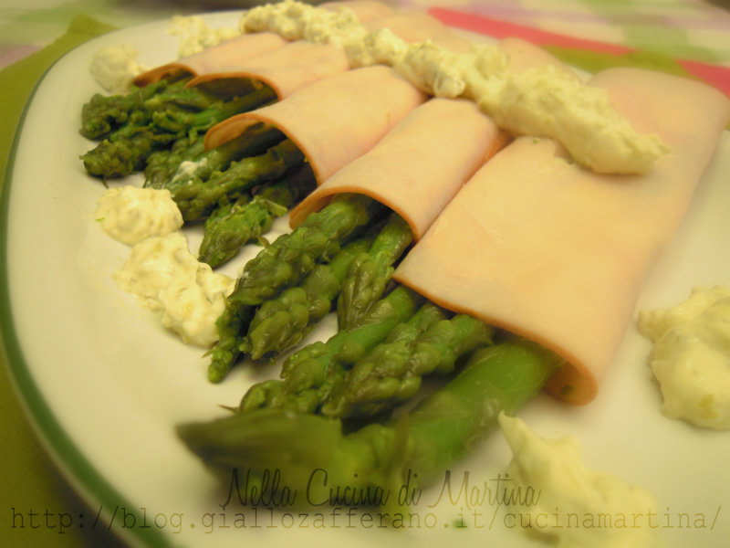fantasia di asparagi ricetta di suor germana nella cucina di martina
