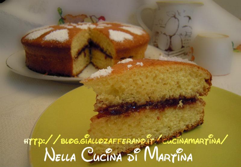 torta di ricotta |nella cucina di martina |dolce senza burro