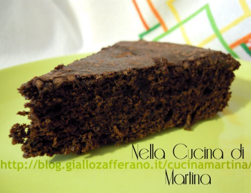 torta di meringa al cacao ricetta base