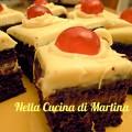 dolcetti di torta meringa al cacao con nutella e cocco ricetta dolce