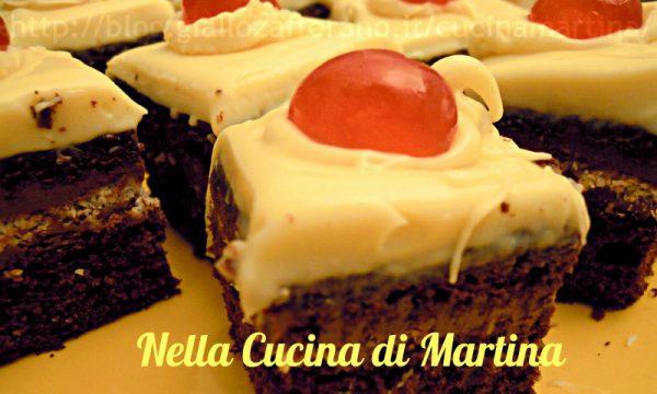 dolcetti di torta meringa al cacao, ricetta dolce
