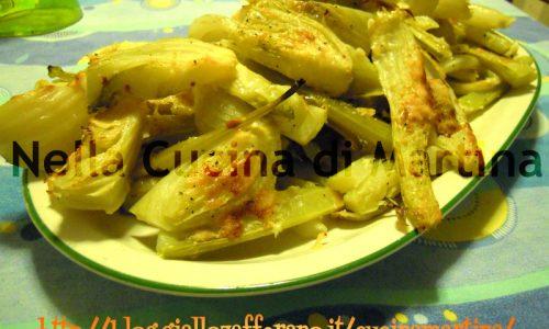 Finocchi gratinati, ricetta light