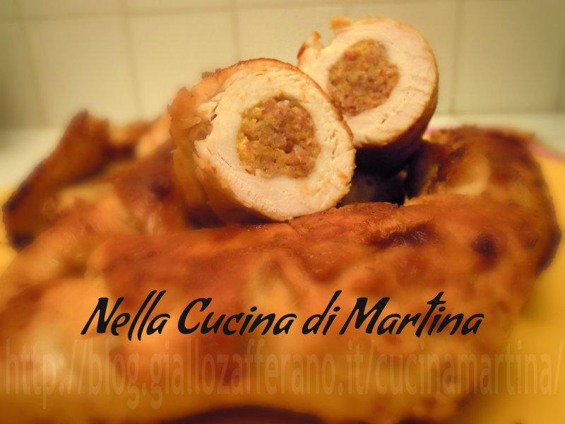 involtini di tacchino ricetta di carne nella cucina di martina