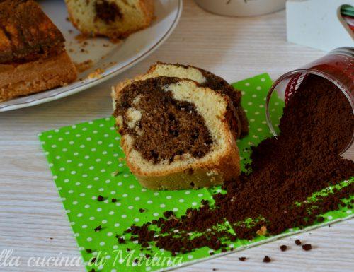 Torta marmorizzata al caffè, ricetta dolce