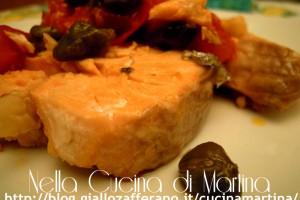 Trancio di salmone saporito, ricetta veloce