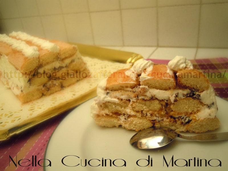 mattonella di ricotta ricetta dolce nella cucina di martina