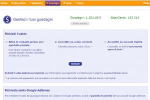 Ho guadagnato 1000 Euro con il mio blog Giallozafferano
