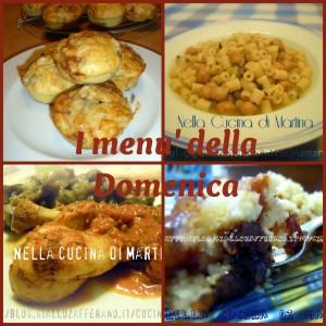 ricettario in pdf gratuito i menu della domenica nella cucina di Martina