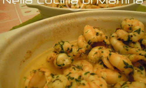 Gamberetti al limone, ricetta di mare
