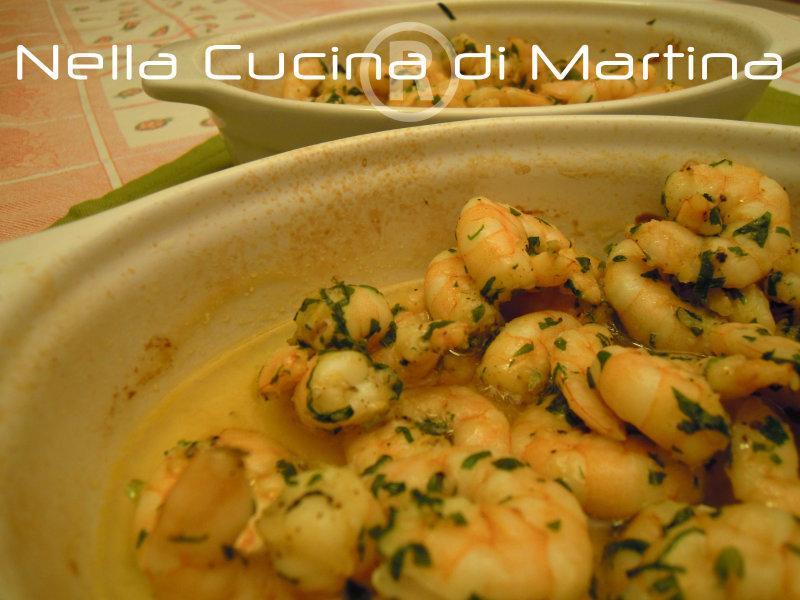 Gamberetti al limone, ricetta di mare semplice, nella cucina di martina blog