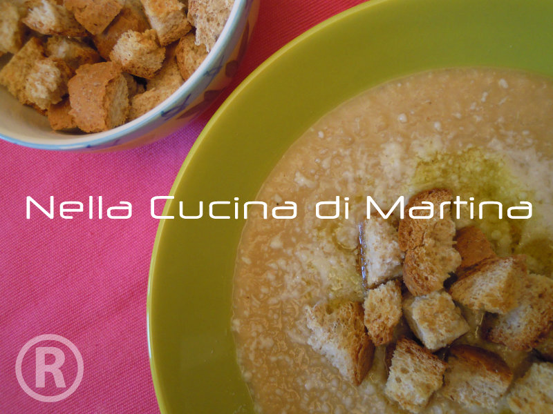Crema di ceci, ricetta veloce e facile, nella cucina di martina blog