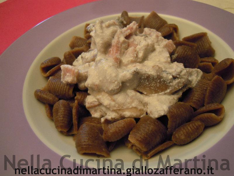 pasta di grano arso ricetta primo piatto nella cucina di martina