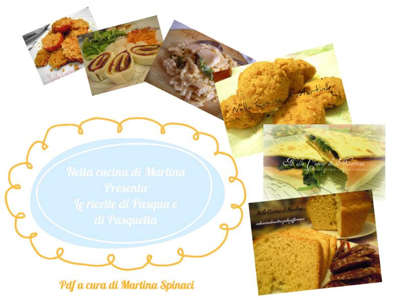 ricette in pdf da scaricar gratis nella cucina di martina