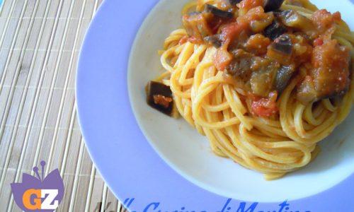 Spaghetti alla Norma light, ricetta primo piatto