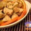 Bocconcini di pollo all'arancia ricetta secondo piatto nella cucina di martina blog