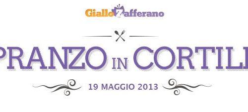Pranzo in cortile: Il 19 Maggio ci vediamo a Milano!