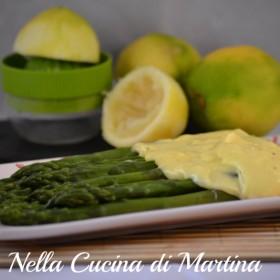 asparagi al limone nella cucina di martina blog