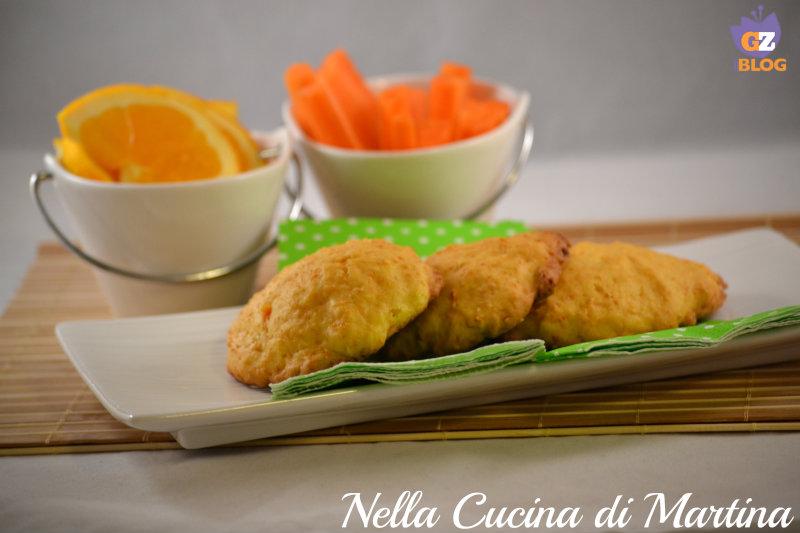 Biscotti di carote ricetta americana nella cucina di martina