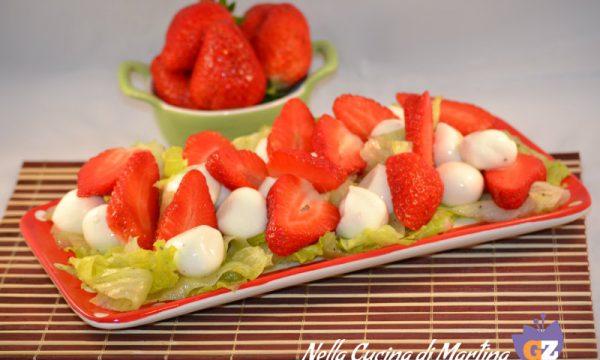 Insalata di fragole, ricetta antipasto