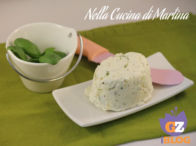 burro al basilico ricetta condimento nella cucina di martina