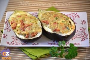 Barchette di melanzane, ricetta secondo piatto